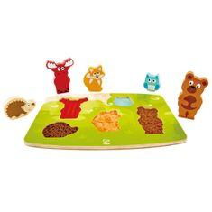 Hape Hmatové puzzle Zvieratká z lesa