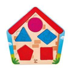 Hape Vkladacie puzzle Kto je v domčeku?