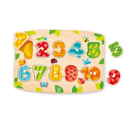 Hape Vkladacie puzzle Čísla 1-10