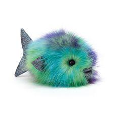 Jellycat Disco rybka Jewel zelená