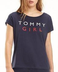 Tommy Hilfiger Dámske tričko Cn Tee Ss UW0UW01619-416 Navy Blazer