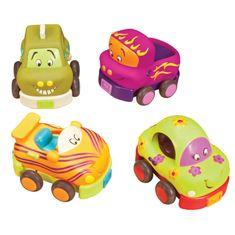 B. Toys Sada autíčok - hrkálky