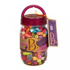 B. Toys Beauty pops korálky na nastrkovanie275 ks