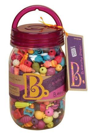 B. Toys Beauty pops korálky na nastrkovanie 275 ks