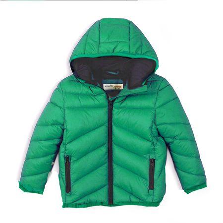 Minoti Puffa PAD jakna za dječake, 80-86, zelena