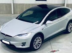 Allegria jízda ve voze Tesla Model X Praha
