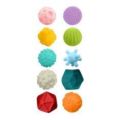 BAYO Sada senzorických hračiek 10ks Bayo Podľa obrázku