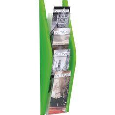 Helit Prezentačný stojan 4x1/3A4 zelený