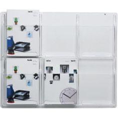 Helit Prezentačný panel so 6 odkladačmi