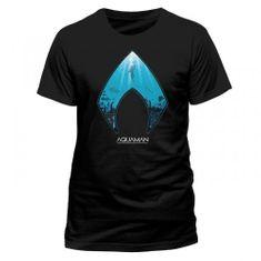CID Pánské tričko Aquaman - Logo
