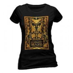 CID Dámské tričko Fantastická zvířata - Zlatý obal