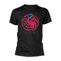Tričko Game of Thrones - Targaryen logo, Ice dragon