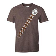 Cotton Division Tričko Star Wars - Chewie s Belt