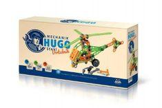 VISTA Mechanik Hugo stavia Vrtuľník Seva stavebnica s náradím 130ks plast v krabici 31x16x7cm