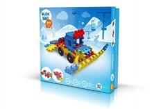 VISTA Stavebnica Blok Ski plast 116 dielikov v krabici 35x34x5cm