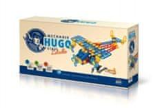 VISTA Mechanik Hugo stavia Lietadlo Seva stavebnica s náradím 144ks plast v krabici 31x16x7cm
