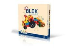 VISTA Stavebnica Blok farmár plast 172ks v krabici 35x33x8cm