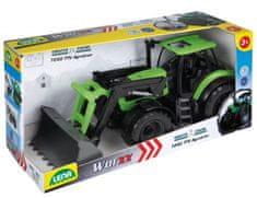 LENA Traktor se lžící Worxx plast 45cm 1:15 v krabici DeutzFahr Agrotron 7250