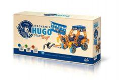 VISTA Mechanik Hugo stavia Bager Seva stavebnica s náradím 141ks plast v krabici 31x16x7cm