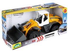 LENA Auto Nakladač Worxx plast 49cm 1:15 v krabici Liebherr L538