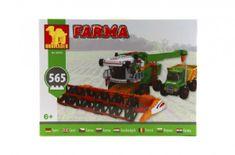 Dromader Stavebnica Dromader Farma kombajn 28703 565ks v krabici 41x30,5x6cm