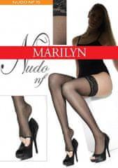 Marilyn Samodržící punčochy s volnou špičkou NF 15 - Nudo nf Marilyn