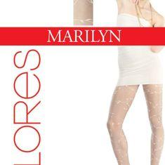 Marilyn Dámské punčochové kalhoty flores 519 - Marilyn