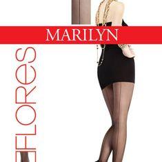 Marilyn Dámské punčochové kalhoty Flores L 516 - Marilny