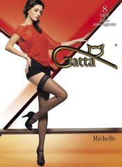Gatta Samodržící punčochy Gatta Michelle nr 04 lycra 8 den
