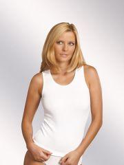 Eldar Bílá dámská košilka Eldar Clarissa XXL-XXXL
