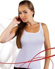 Emili Bílá dámská košilka Emili Mania S-XL