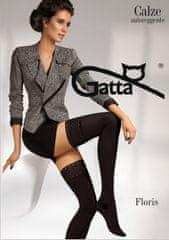 Gatta Dámské samodržící punčochy Gatta Floris