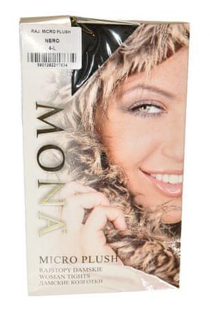 Mona Dámské punčochové kalhoty Mona Micro Plush 200 den 2-4 černá 4-L