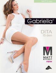 Gabriella Dámské punčochové kalhoty Gabriella Dita Matt 15 den 5-XL