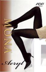 Mona Dámské punčochové kalhoty Mona Acryl 1-4 100 den
