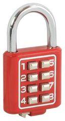 Domino Visací zámek s kodem 8-tlačítkový HOMER