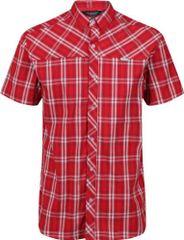 Regatta Pánská košile Regatta HONSHU IV červená