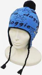 Capu Dětská zimní čepice CAPU 4468 modrá