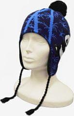 Capu Dětská zimní čepice CAPU 4471 tmavě modrá