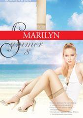 Marilyn Dámské samodržící punčochy Summer 8 den - Marilyn