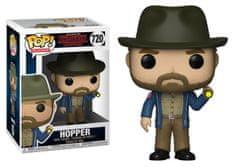 Funko POP! Stranger Things figura, Hopper w/Flashlight #720