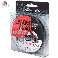 Hell-Cat Návazcová šňůra Leader Braid Line Black 1,20mm, 100kg, 20m