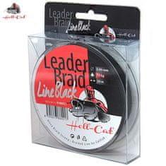Hell-Cat Návazcová šňůra Leader Braid Line Black 0,90mm, 75kg, 20m