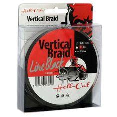 Hell-Cat Splétaná šňůra Braid Line Vertical Black 150m
