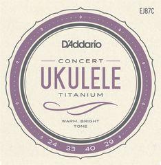Daddario EJ87C Struny na koncertné ukulele