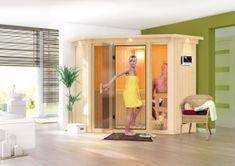 KARIBU finská sauna KARIBU FLORA 1 (57003)