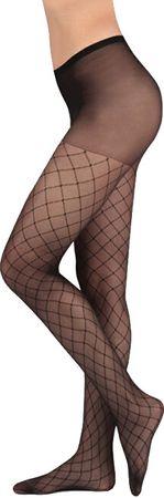 Evona Dámské punčochové kalhoty PEGGY 999 Černé (Velikost 170-116)