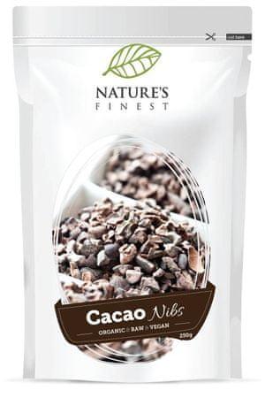 Nature's finest Bio Cacao Nibs zdrobljena kakavova zrna, 250 g