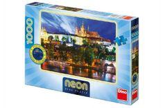 Dino Puzzle Letní noc v Praze svítící ve tmě 66x47cm 1000 dílků v krabici