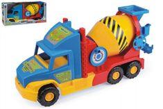 Wader Auto Super Truck domíchávač Wader 53cm asst 2 barvy v krabici